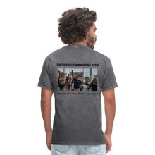 Load image into Gallery viewer, Black Hearts Matter Mens Graphic Tee - mineral charcoal gray