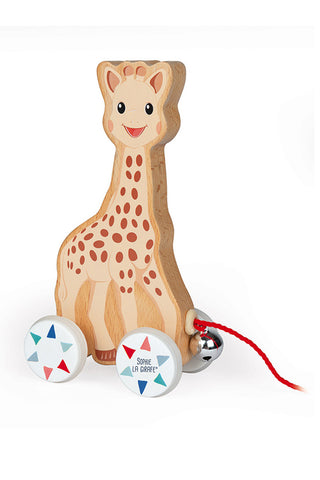 Janod Sophie La Girafe Pull-Along Toy