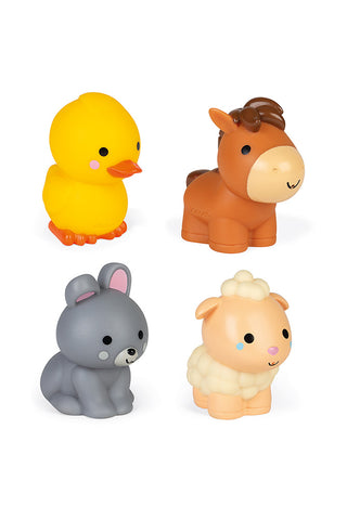 Janod Farm Animals Squirters 4Pk