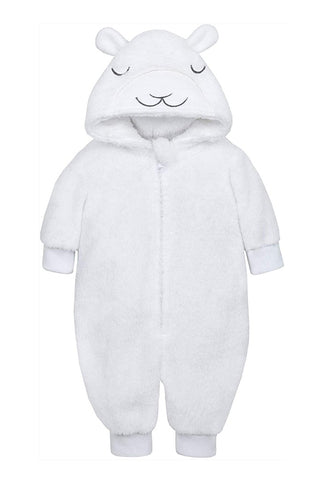 Baby Snuggle Fleece Lamb Onesie