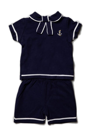 Pique Nautical 2 Piece Set