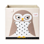 Storage Box Owl White