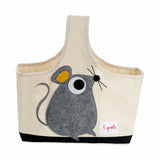 3 Sprouts Storage Caddy Mouse Grey