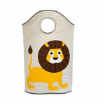 3 Sprouts Laundry Hamper Lion Yellow