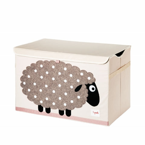 3 Sprouts Toy Chest Sheep Beige