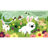 Are You There Little Bunny? - Little Peep-Through Books (Board book)