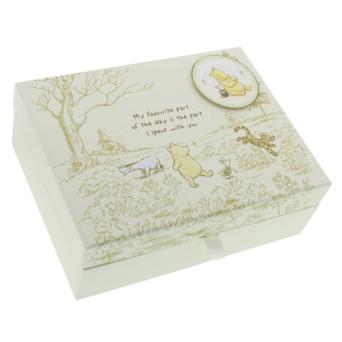 Disney Classic Pooh Heritage Keepsake Box With Compartments