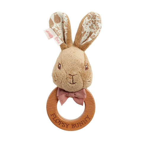 Peter Rabbit Signature Collection Flopsy Bunny Ring Rattle