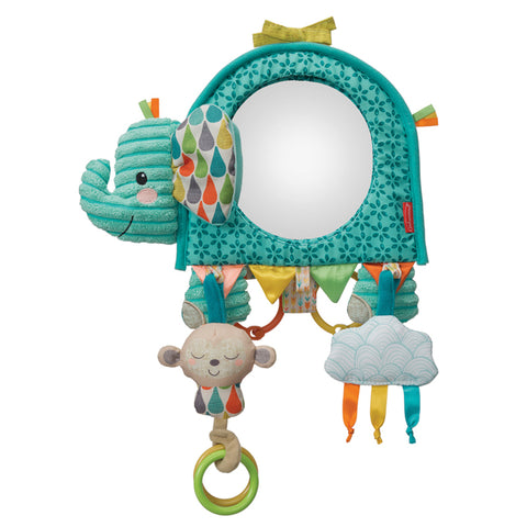 Infantino Go Gaga Elephant Activity Mirror