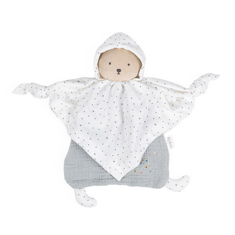 Kaloo Organic Cotton Doudou Bear Grey