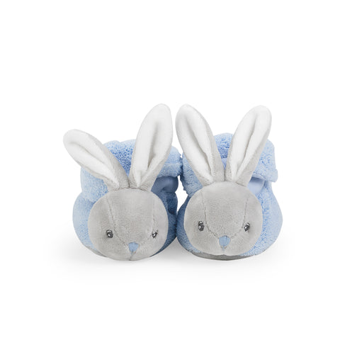 Kaloo Plume Blue Rabbit Booties