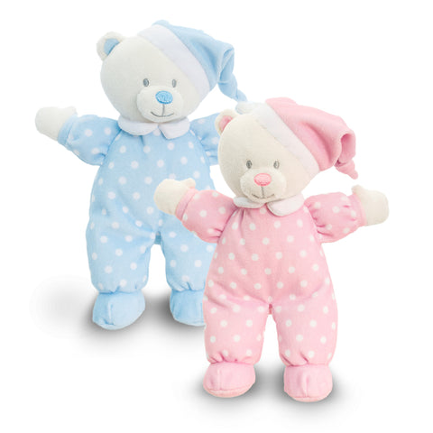 Keel Toys Baby Goodnight Bear 16cm