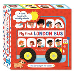 My First London Bus Cloth Book - Campbell London Range (Rag book)
