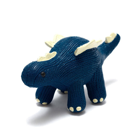 My First Stegosaurus Natural Rubber Toy