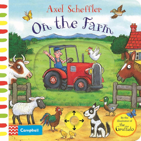 On the Farm: A Push, Pull, Slide Book (Board book)