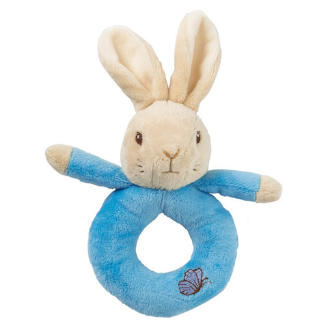 Peter Rabbit Plush Ring Rattle
