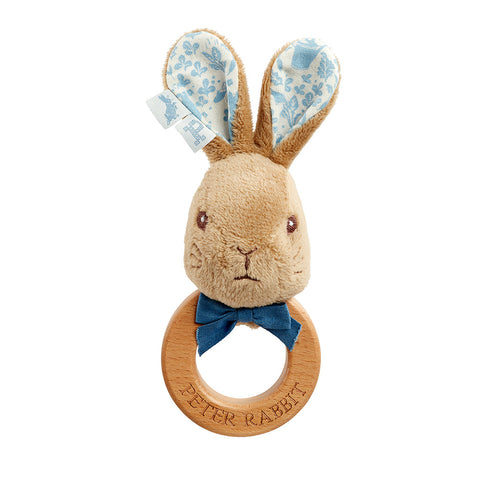 Peter Rabbit Signature Collection Ring Rattle