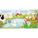 Poppy and Sam and the Bunny - Farmyard Tales Poppy and Sam (Board book)