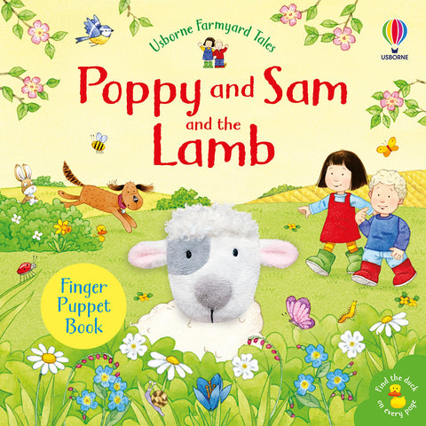 Poppy and Sam and the Lamb - Farmyard Tales Poppy and Sam (Board book)