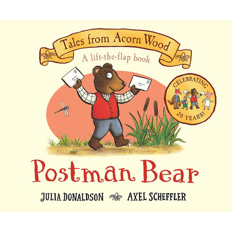 Postman Bear: 20th Anniversary Edition - Tales From Acorn Wood (Board book)