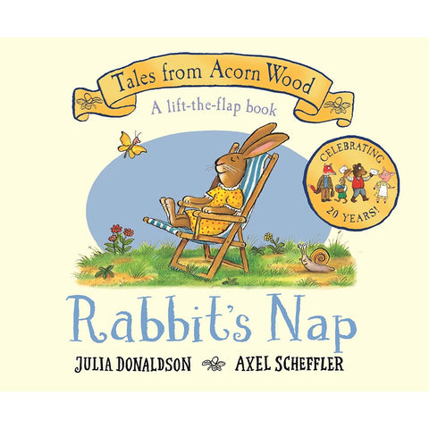 Rabbit's Nap: 20th Anniversary Edition - Tales From Acorn Wood (Board book)