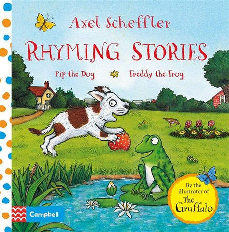 Rhyming Stories: Pip the Dog and Freddy the Frog (Board book)