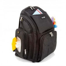 Black Back Pack Changing Bag