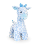 Blue Snuggle Giraffe Musical Toy 30cm