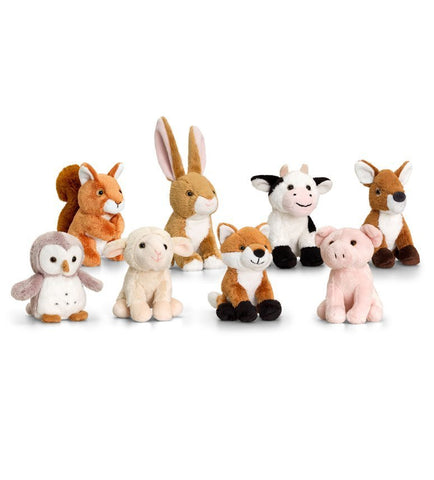 12cm British Wildlife Mini Animals