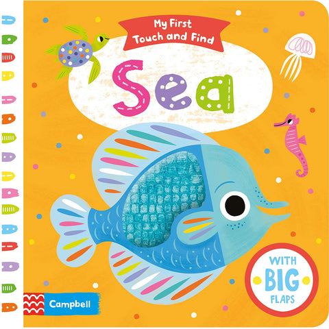 Sea - My First Touch and Find (Board book)