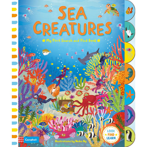Sea Creatures - My First Search and Find (Board book)