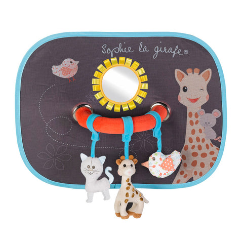 Sophie La Girafe Sunshades with Play Arch