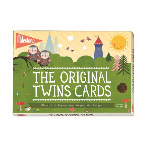 The Original Twins Baby Cards by Milestone™