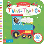 Things That Go - My First Touch and Find (Board book)