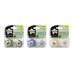 Tommee Tippee Closer to Nature Anytime Soother 0-6m 2Pk