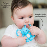 Elephant Yogi Silicone Teether