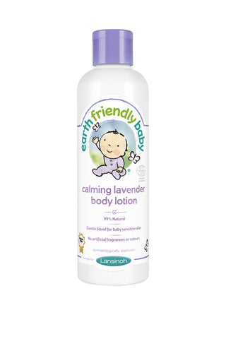 Earth Friendly Baby Calming Organic Body Lotion Lavender