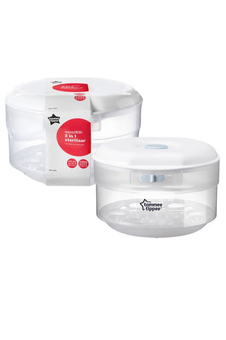 Tommee Tippee Essentials Microwave and Cold Water Steriliser