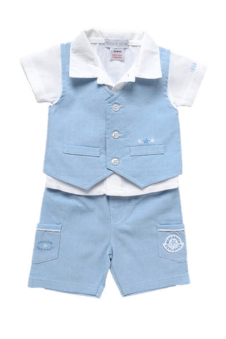 West Beach Explorer 3 Piece Set pale blue