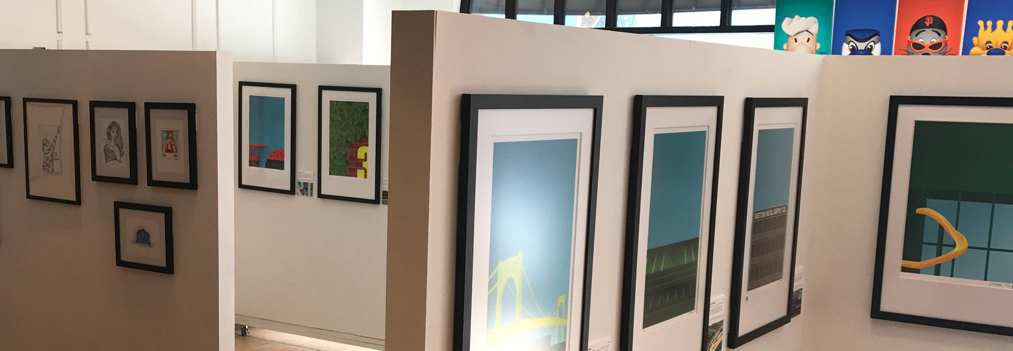 the s preston art designs gallery opened in september 2017 the gallery features his minimalist baseball art collection which include his minimalist - House Gallery Designs With Photos