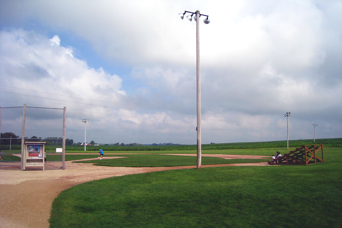 graham's field of dreams There is a poignant — and what i would consider the defining — exchange in the iconic movie field of dreams where the story's protagonist, ray kinse.