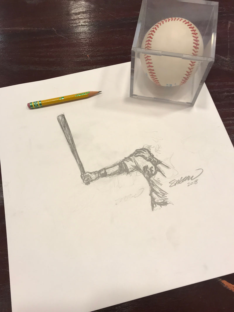 Welcome Back to Safeco Sketch Limited Edition - Seattle Mariners - S. Preston Art + Designs