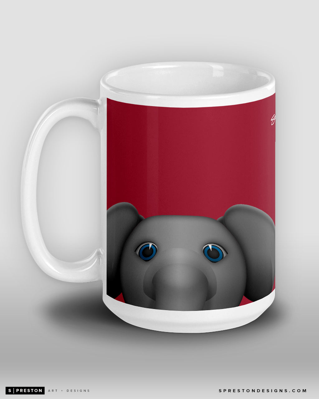 Minimalist Big Al Coffee Mug