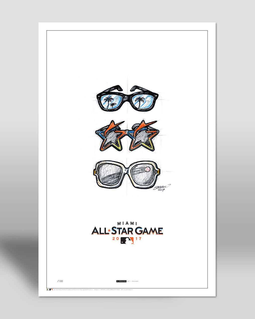 2017 All Star Game Sketch