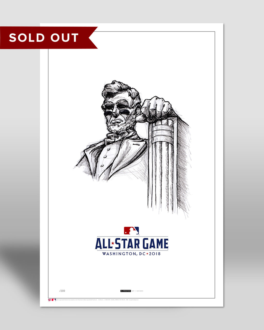 2018 All Star Game Sketch (Eyeblack Lincoln)