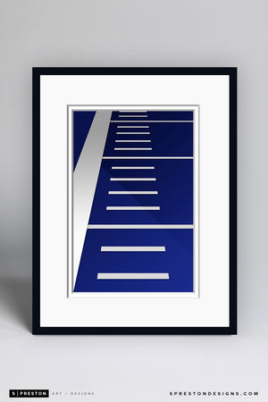 Minimalist Albertsons Stadium - Boise State University - S. Preston