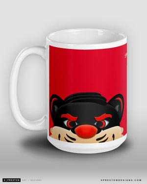 Minimalist Bearcat Coffee Mug
