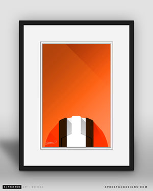 Minimalist FirstEnergy Stadium - Cleveland Browns - S. Preston