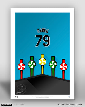 Minimalist Guaranteed Rate Field - Player Series - Jose Abreu