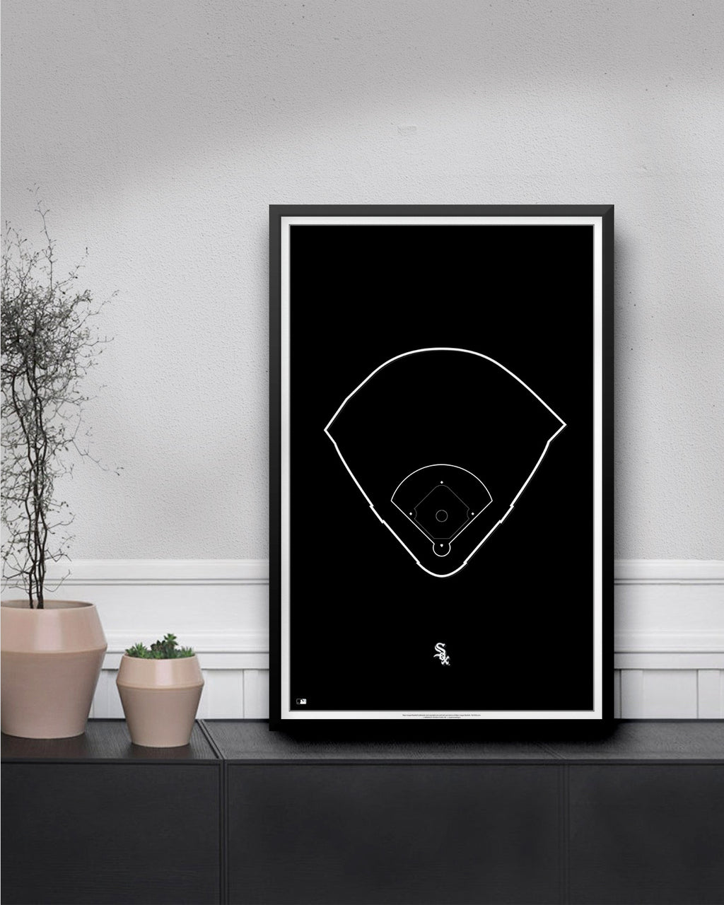 MLB Outline Ballpark - Guaranteed Rate Field Chicago White Sox - S Preston